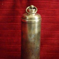 Antigüedades: ANTIGUO CALIENTA CAMAS EN BOTELLA. Lote 32118160