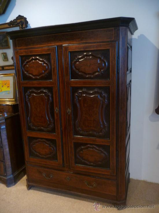 armario barroco cataln de excelentes medidas antigedades muebles antiguos armarios antiguos