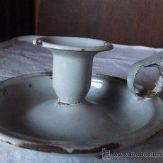 Antigüedades: CANDIL.ANTIGUO. ESPELMATORIA. 13 CM. . Lote 32144309