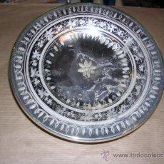 Antigüedades: PLATO DE LA GRANJA ANTIGUO DE MERCURIO , - 18,5 CM. VER FOTOGRAFIAS ADIC. . Lote 32145191