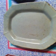Antigüedades: BANDEJA OCHAVADA ALCORA S.XVIII- XIX. Lote 32171168
