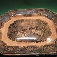 Antigüedades: CONSERVADA Y ANTIGUA FUENTE GRAN TAMAÑO CARTAGENA FABRICA LA AMISTAD, SG.XIX. . Lote 32181840