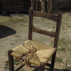 Antigüedades: SILLA CASTELLANA DE ENEA. Lote 32206210
