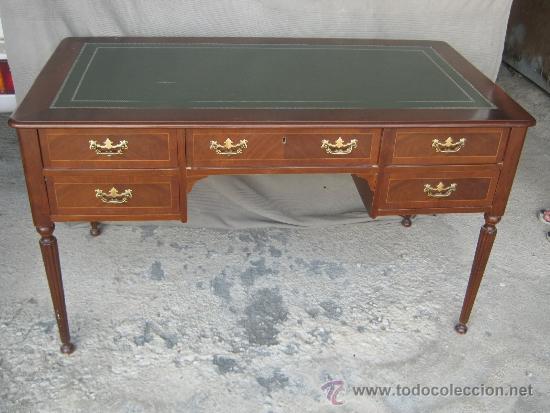 Preciosa mesa de despacho estilo ingl s a os comprar mesas de despacho antiguas en - Mesas de despacho segunda mano ...