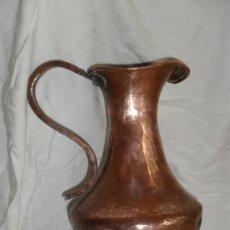 Antigüedades: JARRA DE COBRE. Lote 62342875