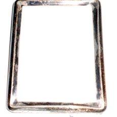 Antigüedades: MARQUITO DE PLATA.MEDIDAS 7 X 9 EXTERIOR,5,5 X 7,5 INTERIOR. Lote 32230436