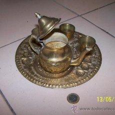 Antigüedades: BANDEJA LATON. Lote 32261454