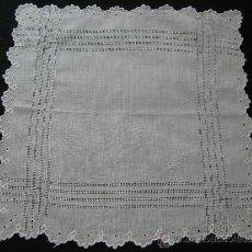 Antigüedades: ANTIGUO PAÑUELO DE HILO. Lote 32265717
