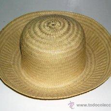 Antigüedades: SOMBRERO DE PAJA CENTROAMERICANO. Lote 213971105