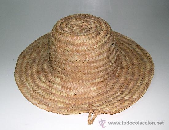 Material Ligero y Flexible Sombrero de Verano Sombrero de Paja para ni/ños para Chicos y Chicas 100/% Paja Juego de cord/ón Azul con Blanco. Sombrero para el Sol