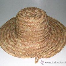 Antigüedades: SOMBRERO DE PAJA ESPAÑOL. Lote 54859418