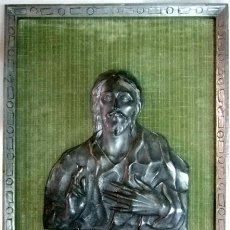 Oggetti Antichi: ALTORELIEVES COBRE PLATEADO VER DETALLES. Lote 32294935