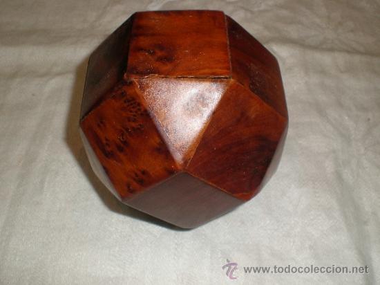 ANTIGUA CAJA DE MADERA (Antigüedades - Hogar y Decoración - Cajas Antiguas)