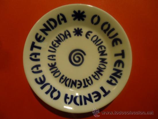 PLATO CERAMICA SARGADELOS (Antigüedades - Porcelanas y Cerámicas - Sargadelos)