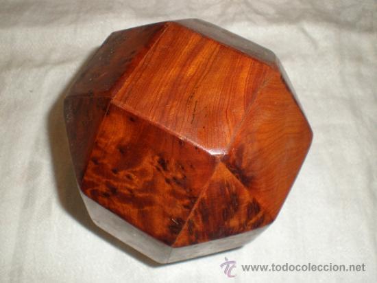 Antigüedades: antigua caja de madera - Foto 2 - 32296364