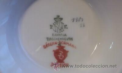 Antigüedades: Preciosa jarra de porcelana Tirschenreuth Bavaria.Sequin-Dormann Zurich.Doble sello - Foto 5 - 32308616