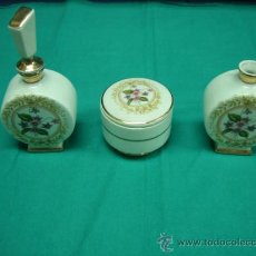 Juego de tocador en porcelana SAMBO fabricada en España