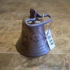Antigüedades: ANTIGUA CAMPANILLA DE BRONCE. Lote 32354585