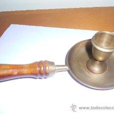 Antigüedades: ANTIGUO PORTA VELA. Lote 32352268
