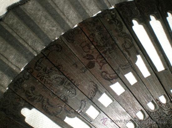 Antigüedades: abanico negro de luto - Foto 5 - 32385212