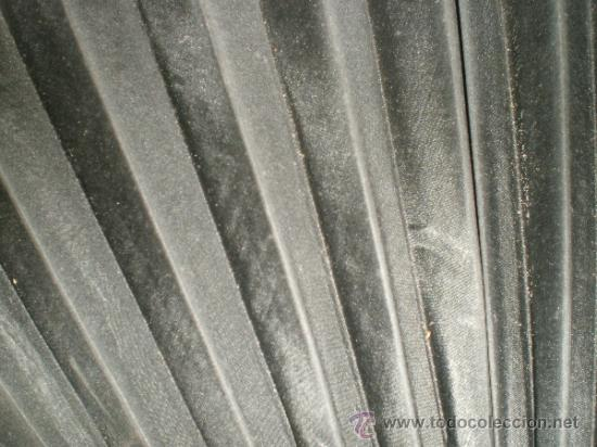 Antigüedades: abanico negro de luto - Foto 2 - 32385193