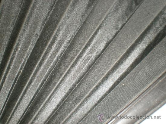 Antigüedades: abanico negro de luto - Foto 3 - 32385193