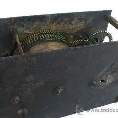 Antigüedades: ANTIGUA MAQUINARIA ¿DE RELOJ?. Lote 32407774