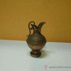 Antigüedades: JARRONCITO DE COBRE. Lote 32430272