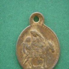 Antigüedades: MEDALLA RELIGIOSA ANTIGÜA -S. XIX- DE BRONCE (HUÍDA A EGIPTO). DIM.-2,4X1,7 CMS.. Lote 32438994