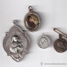 Antigüedades: CUATRO MEDALLAS ANTIGUAS. Lote 32472242