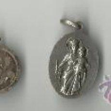 Antigüedades - 6 antiguas medallitas en plata - 32505812