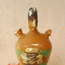 Antigüedades: BOTIJO PINTADO A MANO. Lote 32509728