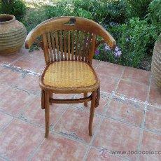 Antiguo sill n tipo thonet restaurado comprar sillones antiguos en todocoleccion 32525880 - Sillones antiguos restaurados ...