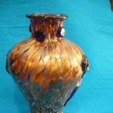 Antigüedades: JARRON CRISTAL MURANO . Lote 32525884