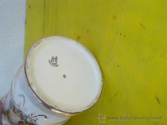 Antigüedades: jarron de ceramica con figuras - Foto 4 - 32547026