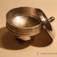 Antigüedades: ANTIGUO CAJA DE METAL M-88. Lote 32579965