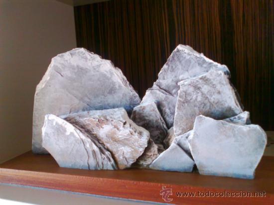 Antigüedades: ESCULTURA AÑOS 60. ESCULTOR ALEMAN.BASE DE MADERA MACIZA.ALPES FRANCESES. VER FOTOS. - Foto 2 - 32619127