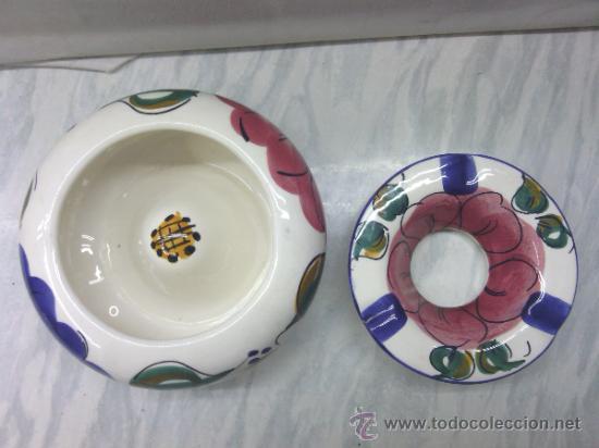 Cenicero porcelana ceramica esmaltado artesana comprar Ceramica artesanal valencia