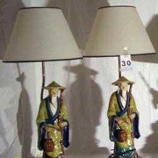 Antigüedades: PAREJA DE LÁMPARAS . Lote 32634515