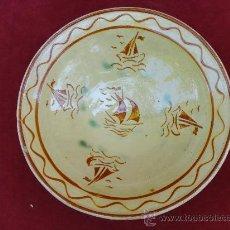 Antigüedades: PLATO DE LA BISBAL. Lote 32635795
