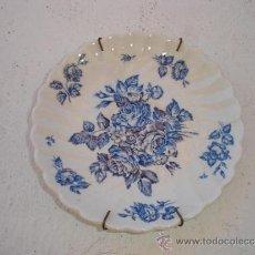 Antigüedades: PEQUEÑO PLATO DE PORCELANA INGLES. Lote 32637547