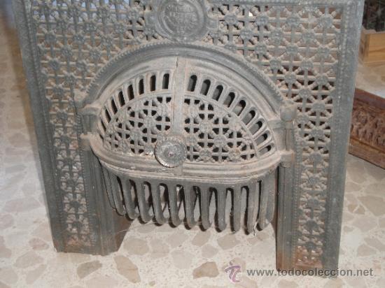 Estupenda estufa de hierro fundido para empotra comprar for Estufas para empotrar