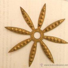 Antigüedades: ADORNO DE METAL PARA MUEBLE O COMODA - MEDIDA 14 CM. Lote 32644464