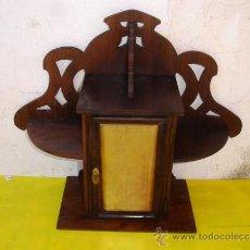 Antiquités: PEQUEÑO ARMARITO CON ESTANTE. Lote 184716877