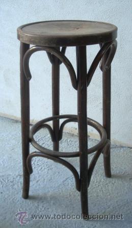 Taburete de bar tipo thonet comprar sillas antiguas en - Taburete segunda mano ...