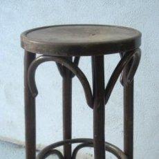 Antiquités: TABURETE DE BAR TIPO THONET. Lote 181394611