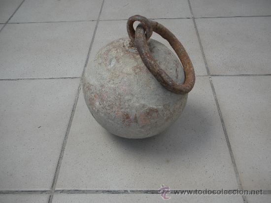 Antigüedades: antigua piedra redonda para atar los animales en los campos - Foto 4 - 32679426