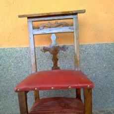 Antigüedades: ANTIGUA SILLA RECLINATORIO.. Lote 32692535