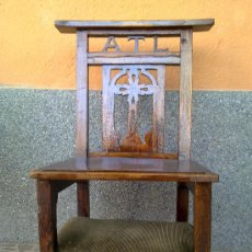 Antigüedades: ANTIGUA SILLA RECLINATORIO.. Lote 32692571