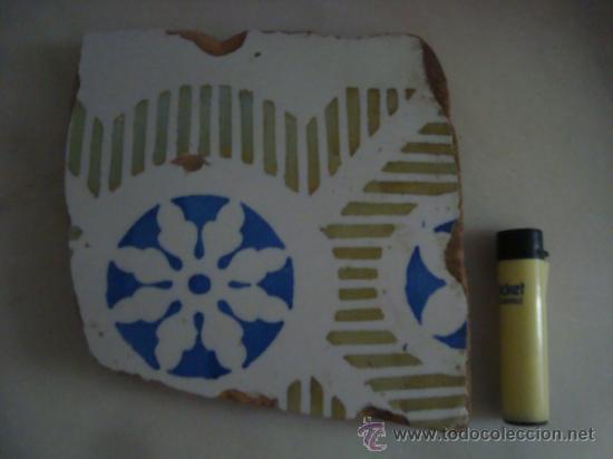 Antigüedades: magnifica coleccion de azulejos pintados a mano y restos de ceramicas muy antiguas una pickman, ver - Foto 35 - 32717748